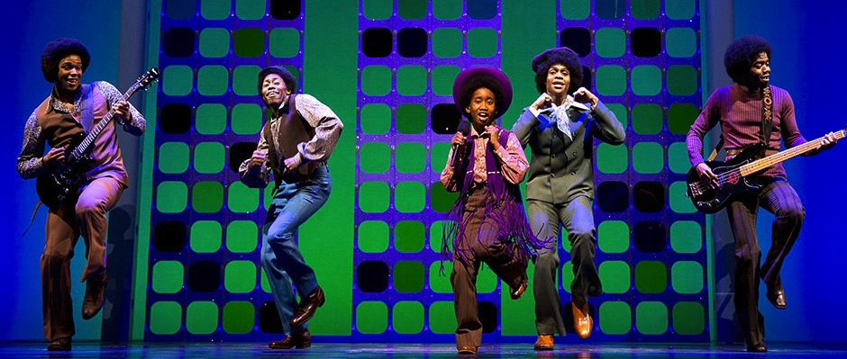 "THE JACKSON 5, as portrayed in ""Motown: The Musical."""