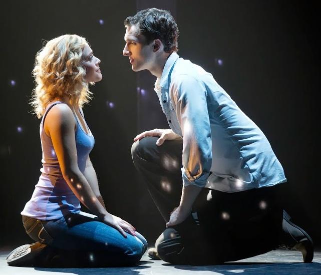 Katie Postotnik and Grant Douglas as star-crossed lovers Molly and Sam. Photo: Joan Marcus