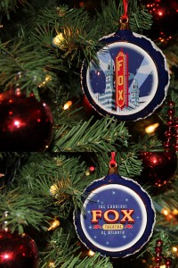 FOX THEATRE ornaments. Various prices.