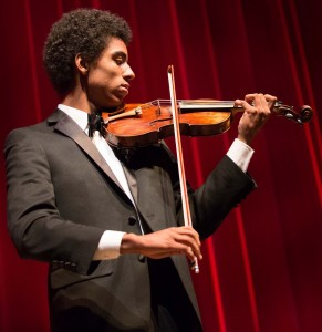 """I love the simultaneous burning passion and quiet sophistication with which true masters play the violin,"" says Keanu Mitanga, 16."