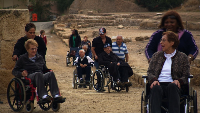 """CLOSING NIGHT: """"Next Year Jersusalem,"""" about seniors at a Connecticut nursing home who head to Israel."""
