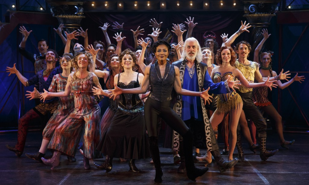 "THE BROADWAY COMPANY  of ""Pippin."" Photo: Joan Marcus"