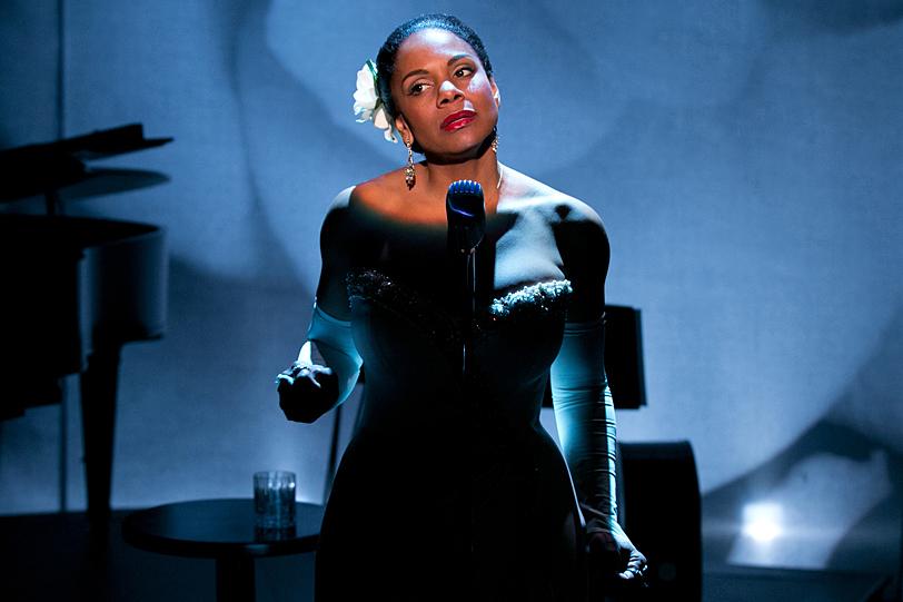 AUDRA McDONALD as Billie Holiday.