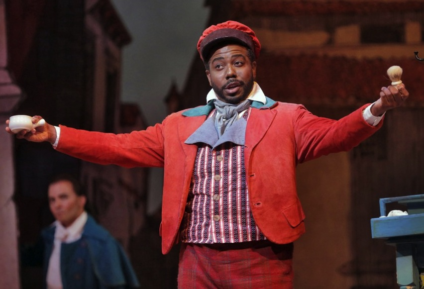 sidney outlaw as figaro