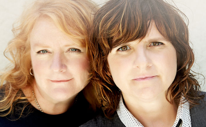 The Indigo Girls are Emily Saliers (left) and Amy Ray. Photo by Jeremy Cowart