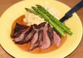 Steak au Poivre at Tupelo Honey.