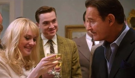"""THE LAST OF ROBIN HOOD"" features Kevin Kline (left) as Errol Flynn."