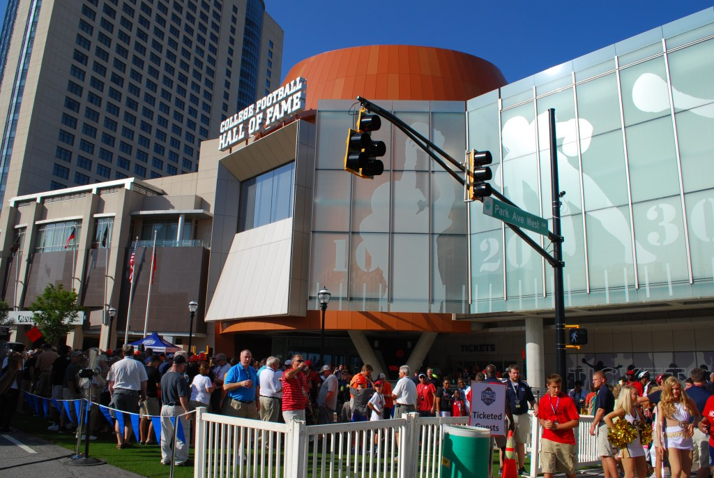 Hall of Fame exterior (street view)