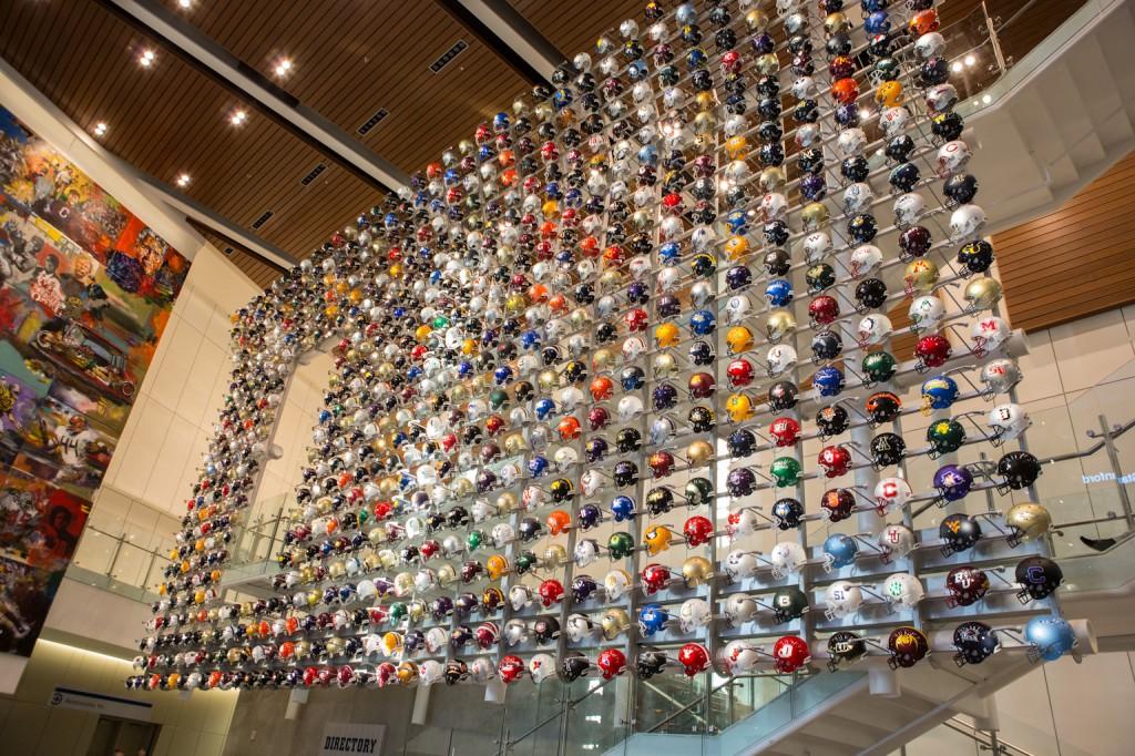 Helmet Wall