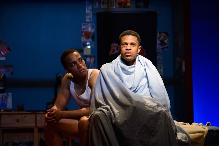 """A scene from Tarell Alvin McCraney's """"Choir Boy,"""" honored as best play."""