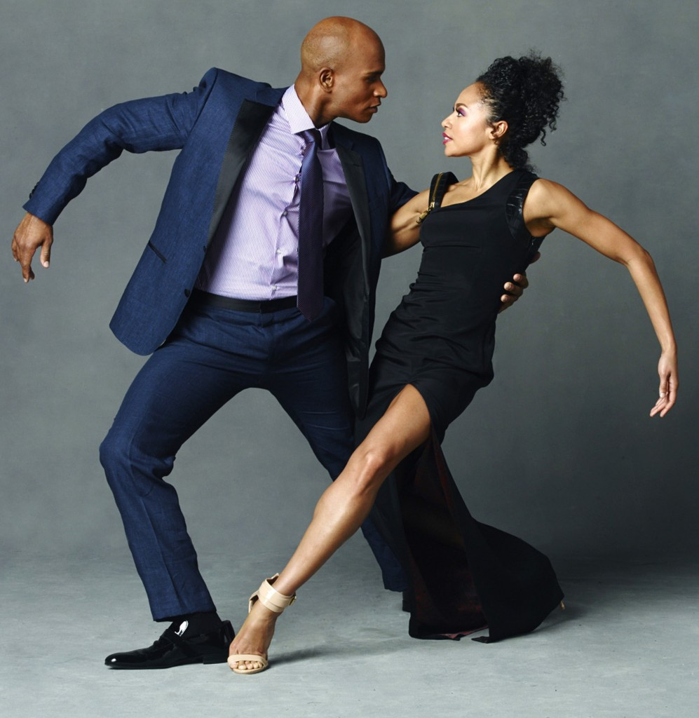 Alvin Ailey American Dance Theater's Linda Celeste Sims and Glenn Allen Sims. Photo by Andrew Eccles_06