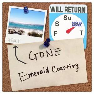Gone Emerald Coasting