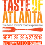 Forks up! Taste of Atlanta returns Sept. 25
