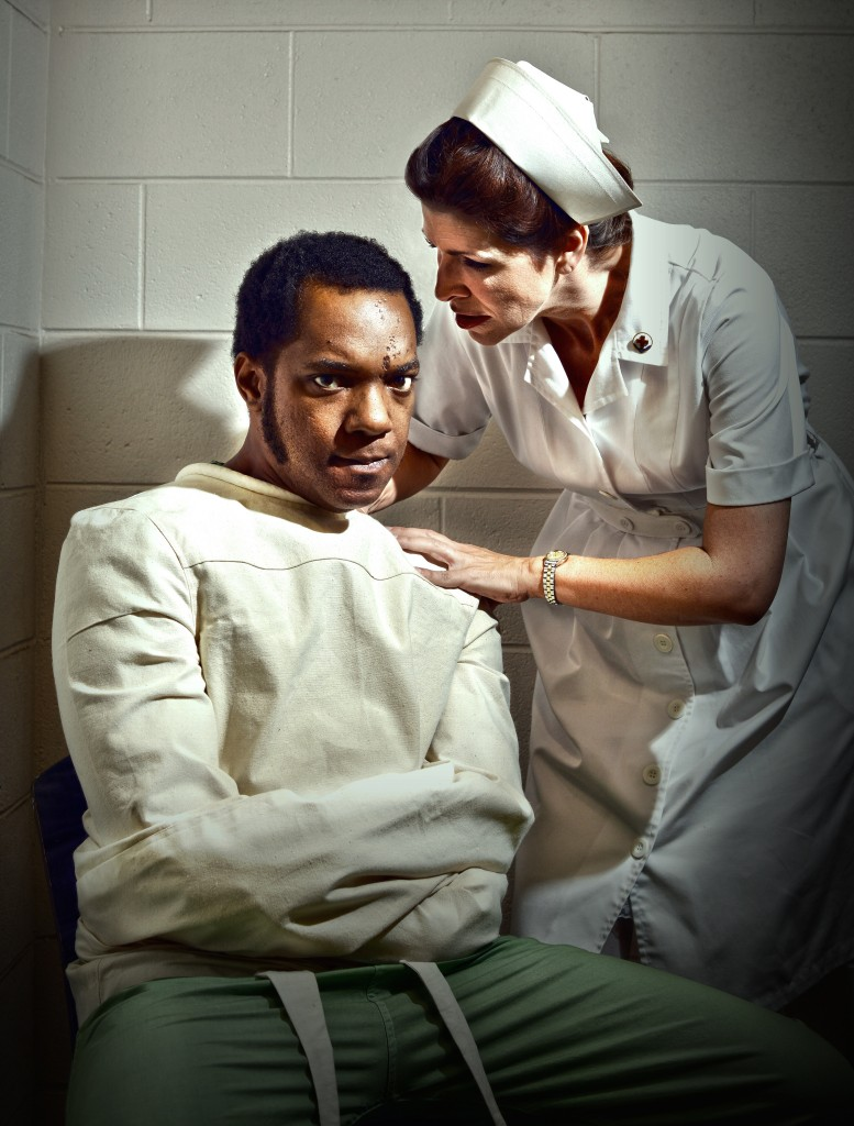 McMurphy and Nurse Ratched. Photo: Greg Mooney.