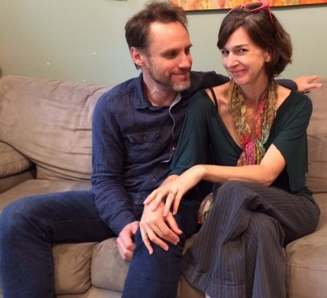 Daniel and Rachel May in their Decatur home. Photo: Julie Bookman