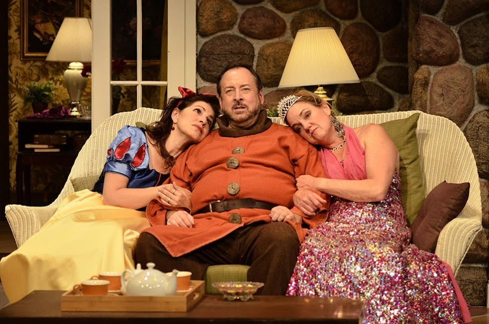 """""""Vanya, Sonia, Masha and Spike"""" at Aurora Theatre features (from left) Tess Malis Kincaid, Bill Murphey and Lala Cochran. Photo by BreeAnne Clowdus"""