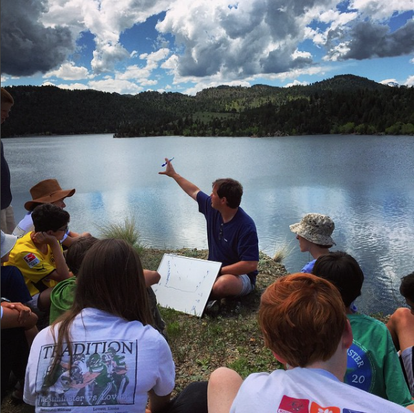 Students from Westminster's middle school took an educational summer adventure to the Colorado River. Image via Instagram.com/thewestminsterschools.