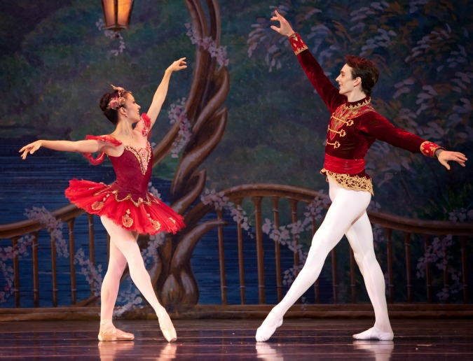 The Sugar Plum Fairy the the Cavalier. Photo: Charlie McCullers
