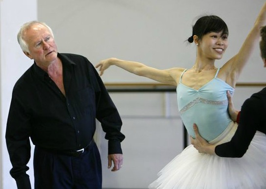 "Artistic director John McFall in rehearsal for 2009's ""Nutcracker."" Photo: Vino Wong"