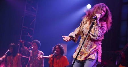 "xxxxx in ""A Night With Janis Joplin."""