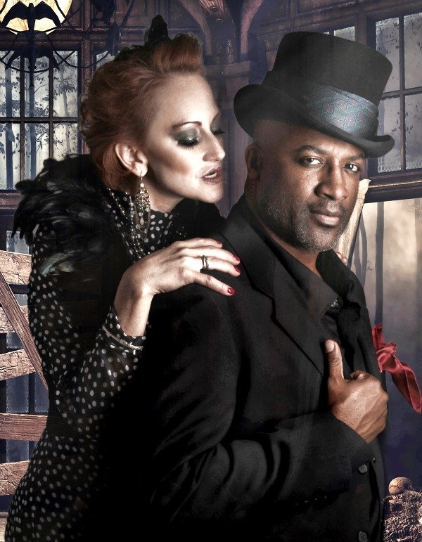 Cynthia Bowman as Mrs. Lovett and Kevin Harry as Sweeney Todd. Photo: BreeAnne Clowdus