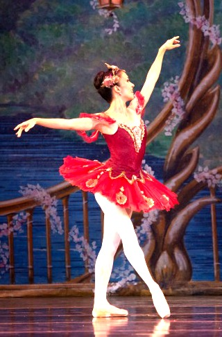 The Sugar Plum Fairy. Photo: Charlie McCullers
