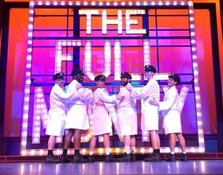 "The men of ""The Full Monty."" Photo: Atlanta Lyric Theatre"