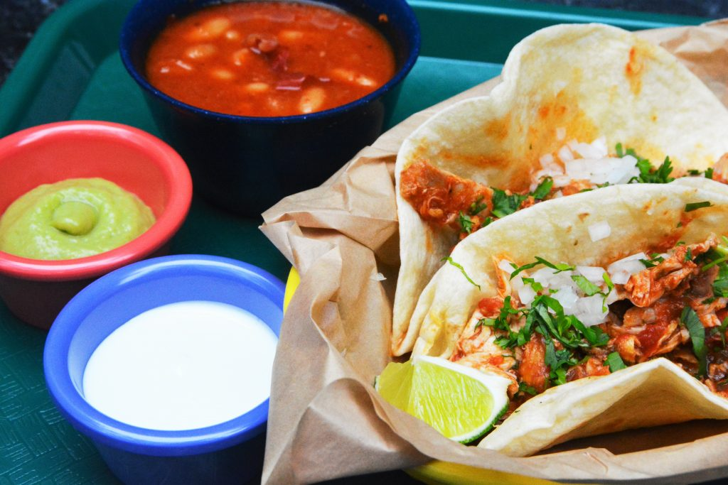 Rreal Tacos, a food truck-inspired taqueria near Piedmont Park, emphasizes simple presentation and authentic Mexican preparation. Photo: Rreal Tacos