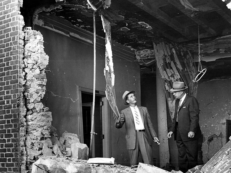 In the early hours of Oct. 12, 1958, some 50 sticks of dynamite exploded in a recessed entranceway at The Temple, Atlanta's oldest and most prominent synagogue.
