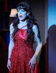 Natasha Drena as the Witch. Photo: Chris Bartelski