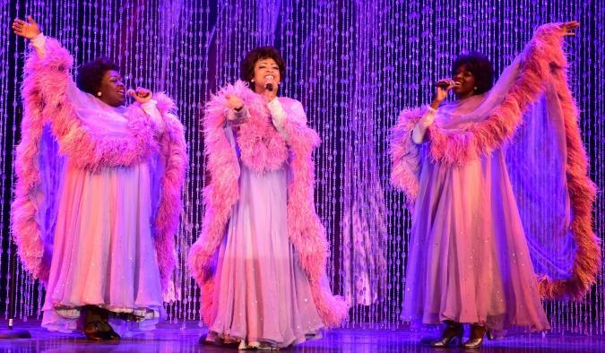 The Dreams, aka Dreamettes (from left): Kayce Grogan-Wallace, Judith Franklin and Chimére Scott. Photo: Atlanta Lyric Theatre