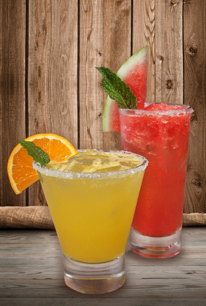 Strawberry Margarita and Skinny Margarita