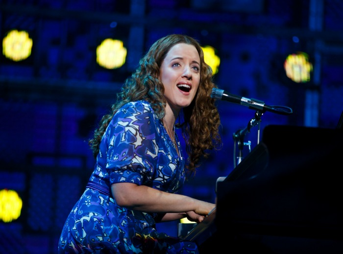 """Abby Mueller as Carole King at Carnegie Hall in a scene from """"Beautiful."""" Photo: Joan Marcus"""