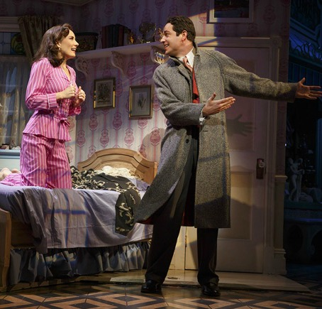 "Tony nominees Laura Benanti and xxx in ""She Loves Me."" Photo: Joan Marcus"