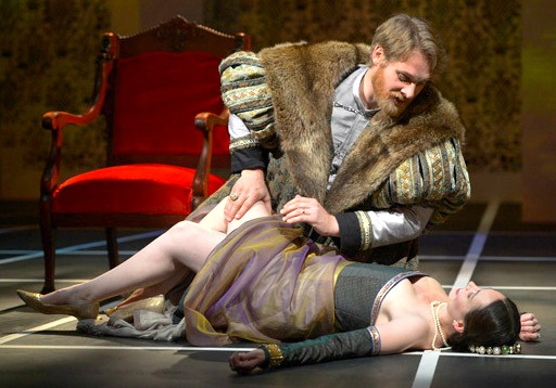 """Anne Boleyn,"" as seen at Marin Theatre Company in California this spring. Photo: Kevin Berne"