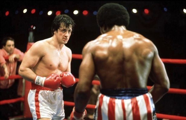 """Rocky,"" with Sylvester Stallone and Carl Weathers, screens xxxxxxx. Photo: Fox Theatre"