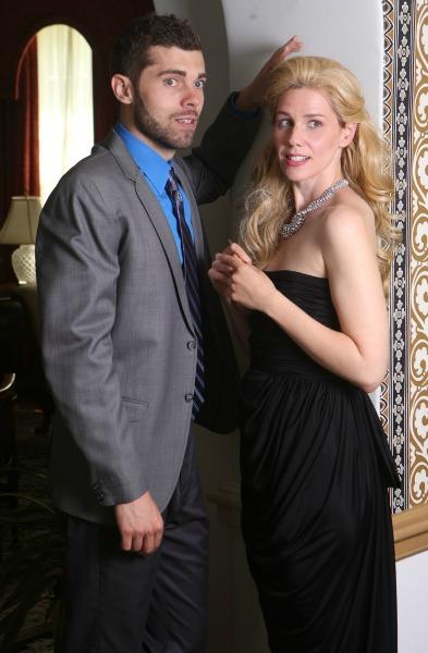 """Justin Walker and Rachel Garner in """"The City of Conversation."""""""