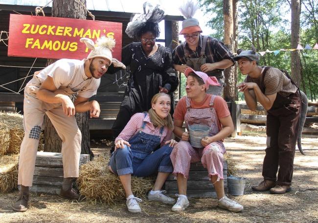"The cast of ""Charlotte's Web."" Photo: BreeAnne Clowdus"