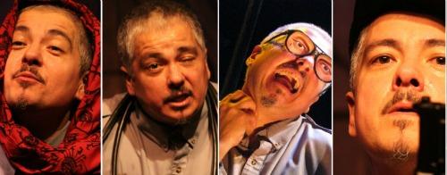 The many faces of Ruben C. González.