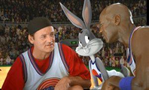 Bill Murray, Bugs Bunny and Michael Jordan. Photo: Warner Bros./Getty Images