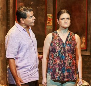 Anthony P. Rodriguez and Maria Rodriguez Sager as parents who disagree. Photo: Chris Bartelski