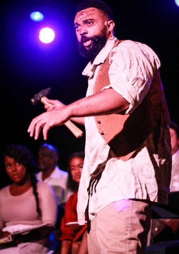 """""""UNDERGROUND"""": Marcus Hopkins-Turner as Bali, a slave on the move."""