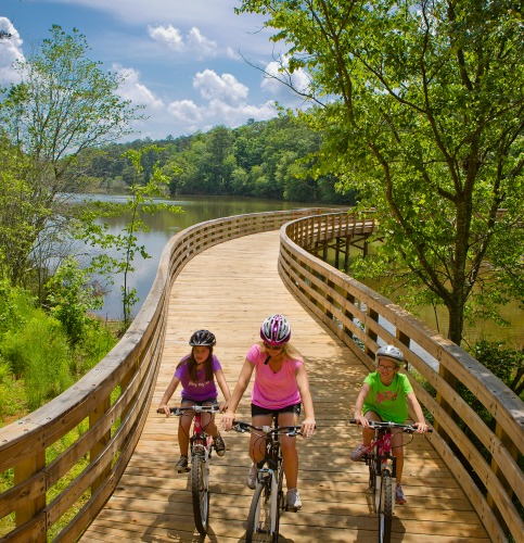 Wheels up on a picture-perfect day at Panola State Park.