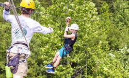 There's a zip in the air at Unicoi