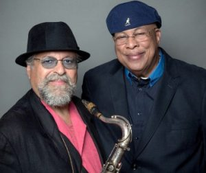 Joe Lovano, Chucho Valdes. Photo: Rialto Center