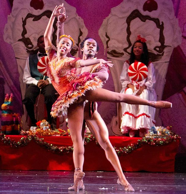 "A scene from ""Urban Nutcracker."" Photo: Ballethnic Dance Company"