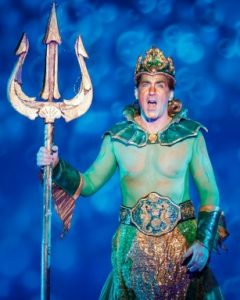 Steve Blanchard as King Triton. Photo: Mark Kitaoka