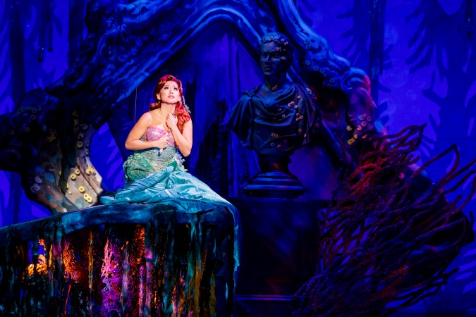 "Diana Huey is Ariel in the latest version of ""The Little Mermaid"" to play the Fox Theatre. Photo: Mark Kitaoka for Seattle's 5th Avenue Theatre."