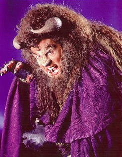 "Blanchard as the Beast in Broadway's ""Beauty and the Beast"" (xxxxxxx)."