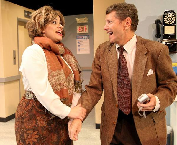 Gina Rickicki, Doyle Reynolds. Photo: Stage Door Players